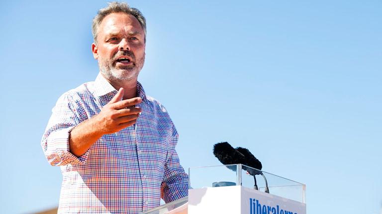Liberal Party leader Jan Björklund. Photo: Anders Ylander/ TT.