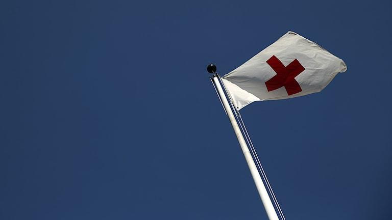 Röda korsets flagga