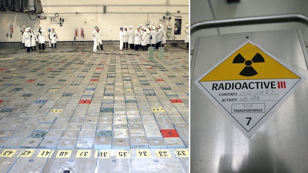 Interiörbild från det ryska kärnkraftverket Sosnovy Bor.