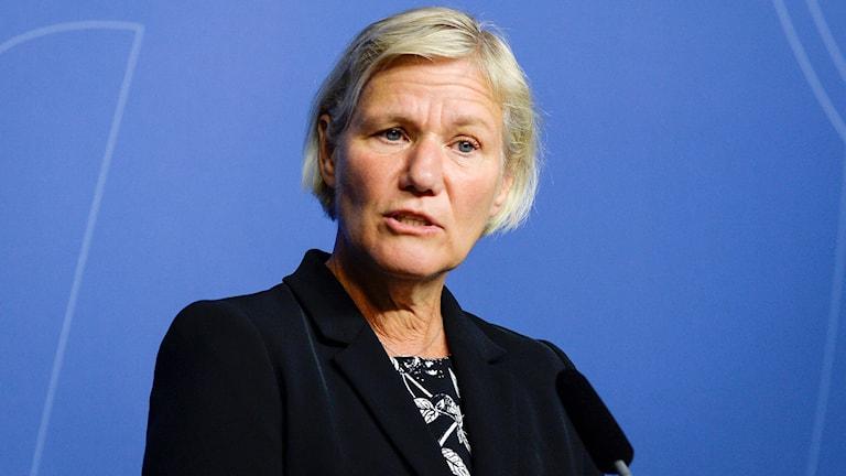 Ann-Marie Begler. Foto: Bertil Ericson/TT.