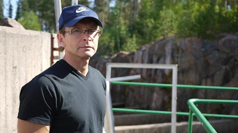 Stefan Stridsman, fiskeribilog på länsstyrelsen i Norrbotten.