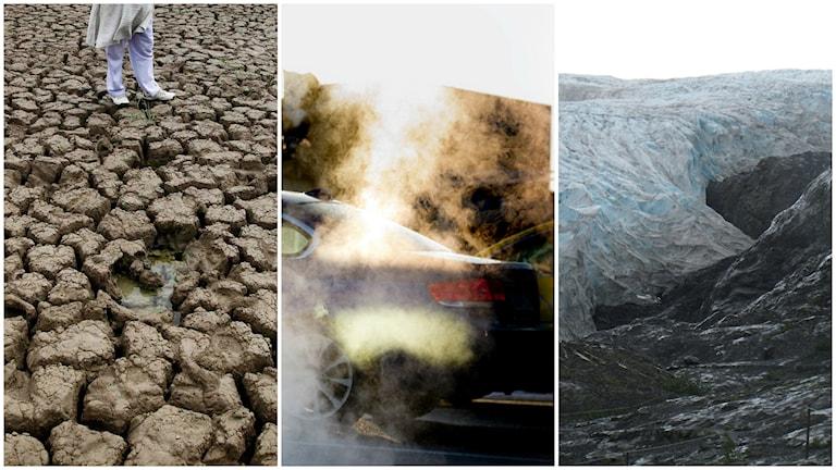 En rapport från Action Tracker visar att ländernas klimatambitioner hittills inte räcker för att hejda jordens uppvärmning vid två grader. Foto: TT.