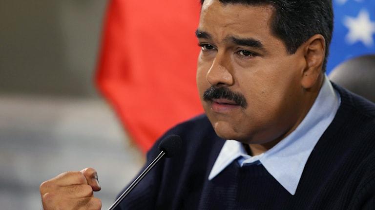 Venezuerlas president Nicolas Maduro. Foto: Fernando Lano/AP.