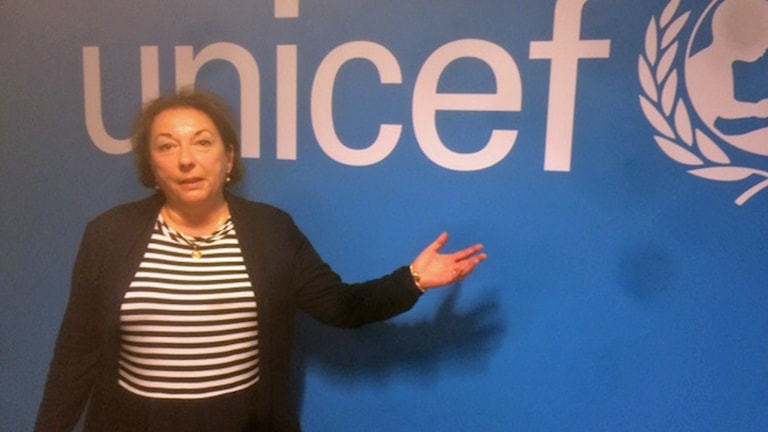 Foto: Veronique Lönnerblad, generalsekreterare för Unicef Sverige. Foto: Anders Wennersten.