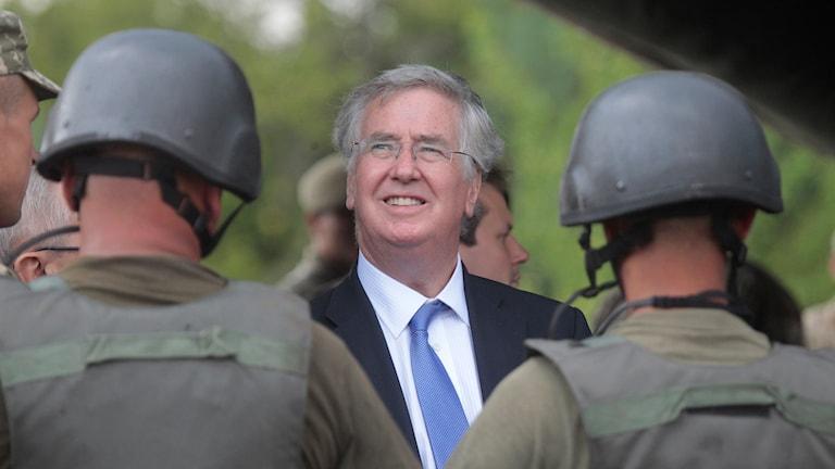 Michael Fallon, brittisk försvarsminister. Foto: Efrem Lukatsky/AP
