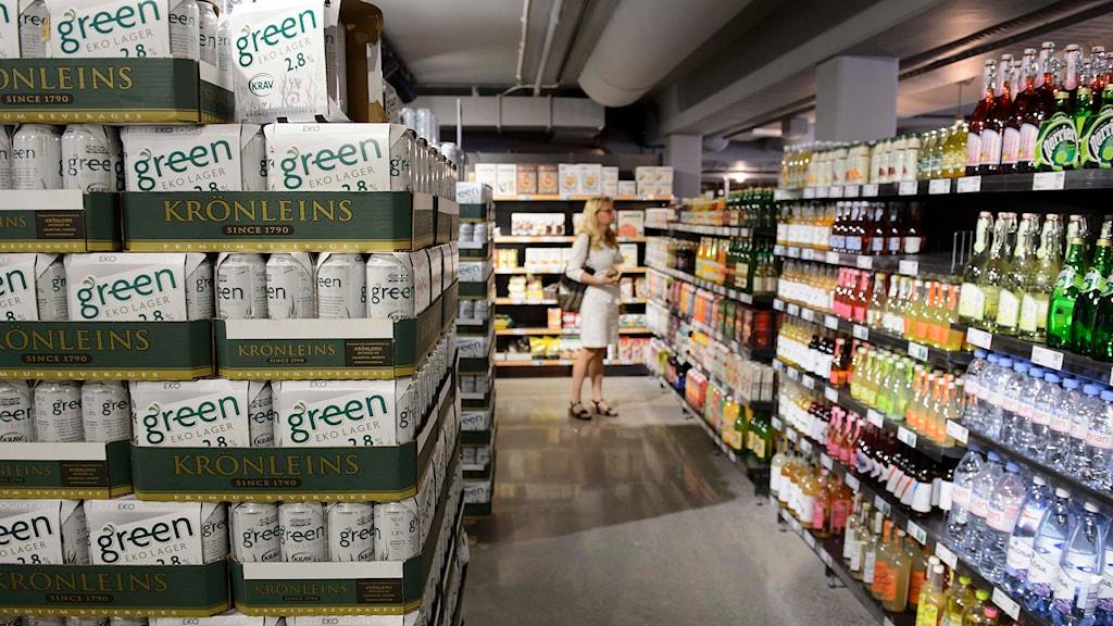 Den ekologiska matvaruaffären Paradiset. Foto: Henrik Montgomery/TT.