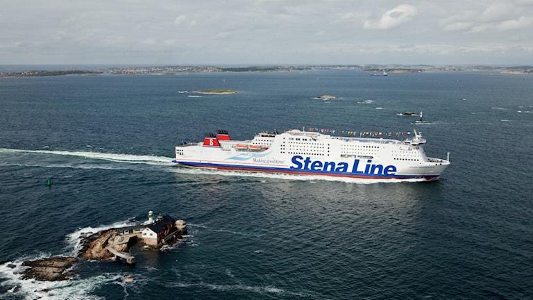 Flyktingar kommer med Stena Lines färjor från Tyskland till både Trelleborg och Göteborg. Foto: Stena Line
