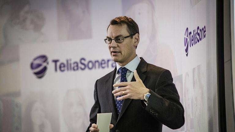 Vi är väldigt besvikna, säger finansdirektör Christian Luiga. Foto: Marc Femenia / TT