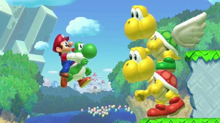 Super Mario skärmdump. Foto: Nintendo.