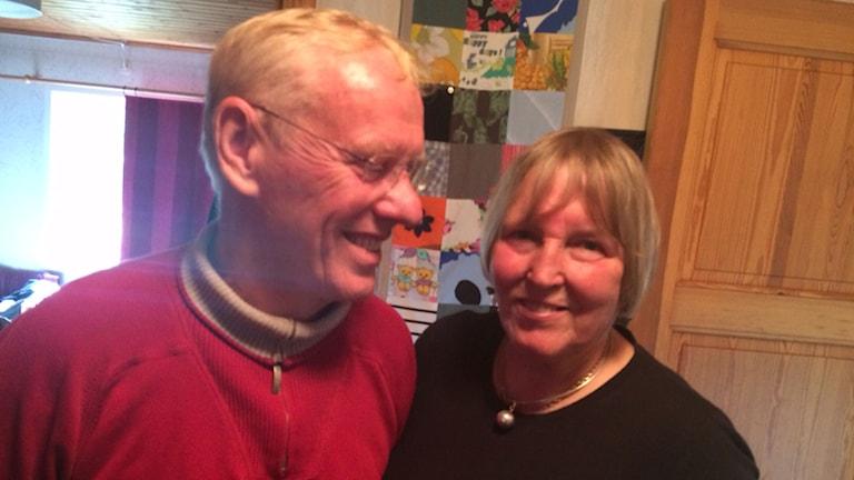 Gerd och Ingvar Persson. Foto: Samuel Larsson/Sveriges Radio.