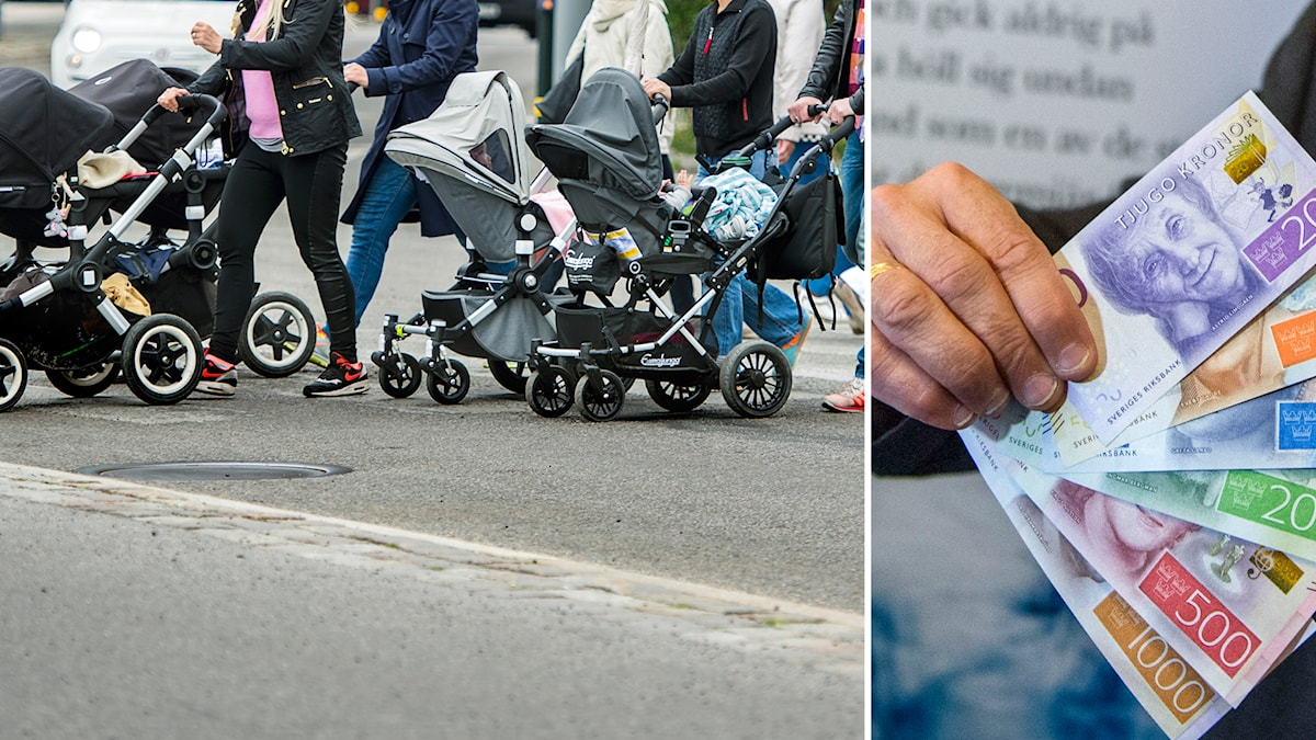 Pengar, Flera barnvagnar