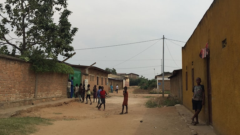 Området Chibitoke i Bjumbura Foto: Nivette Dawod/Sveriges Radio.