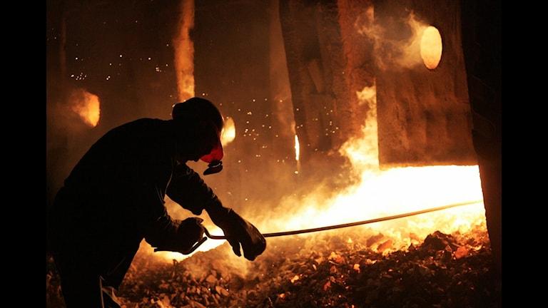 Stålarbetare Foto: Viktor Korotayev/AP