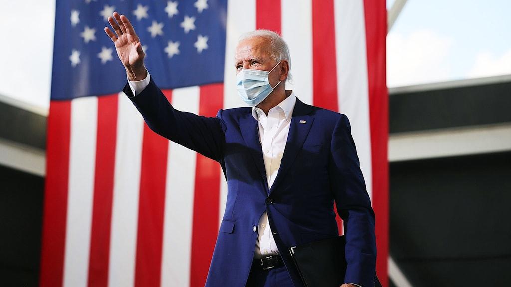 Demokraternas presidentkandidat Joe Biden