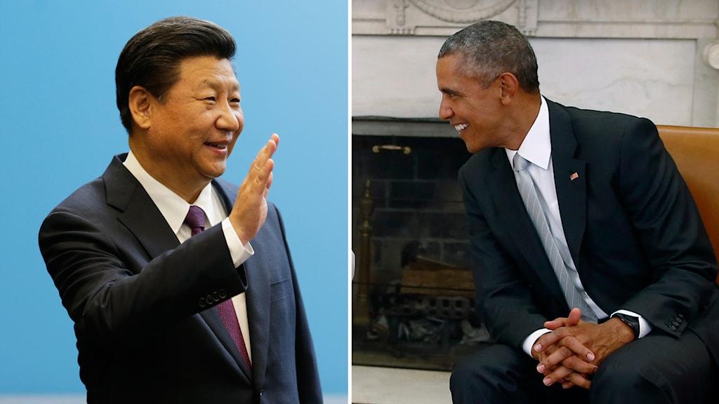 I dag möts Kinas och USA:s president.