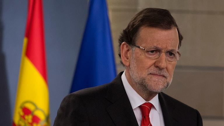 Spaniens premiärminister Mariano Rajoy. Foto: Paul White/TT.