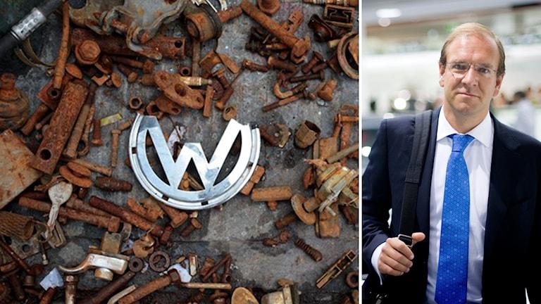 Svenska Volkswagens vd, Claes Jerveland. Foto: TT.