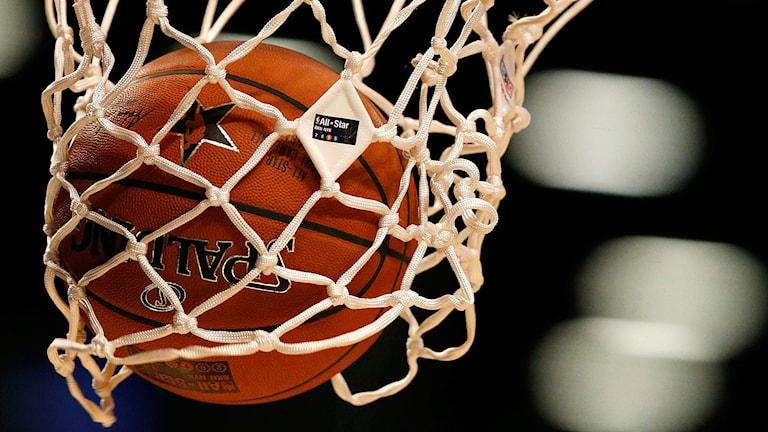 Basketboll.Foto: Julio Cortez/TT/AP