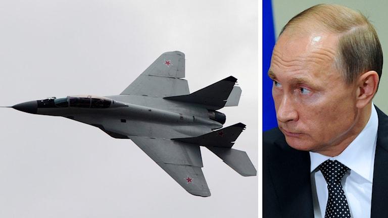 Rysslands president Vladimir Putin har fått grönt ljus att sätta in stridflygg i Syrien Foto: Misha Japaridze och Andrew Harnik / AP