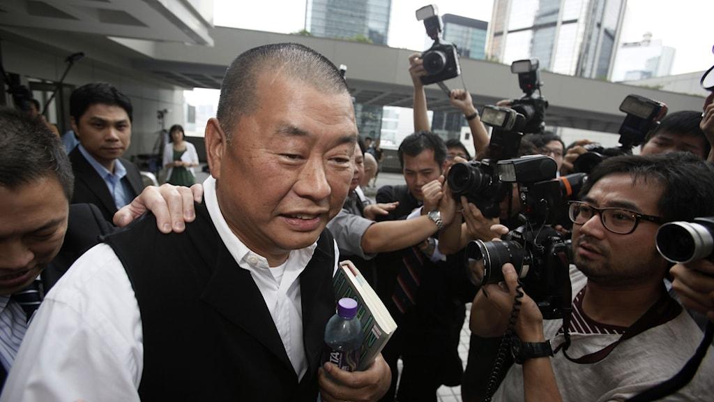 Affärsmannen och mediemogulen Jimmy Lai