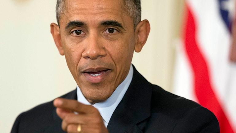 USA:s president Barack Obama. Foto: Manuel Balce Ceneta/TT.