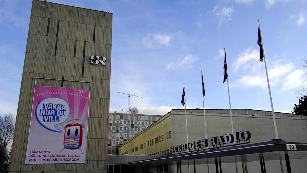Radiohuset i Stockholm. Foto: Foto. Hasse Holmberg/TT.
