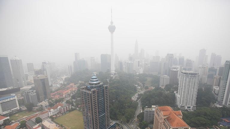 Kuala Lumpur i Malaysia. Foto: Joshua Paul/AP