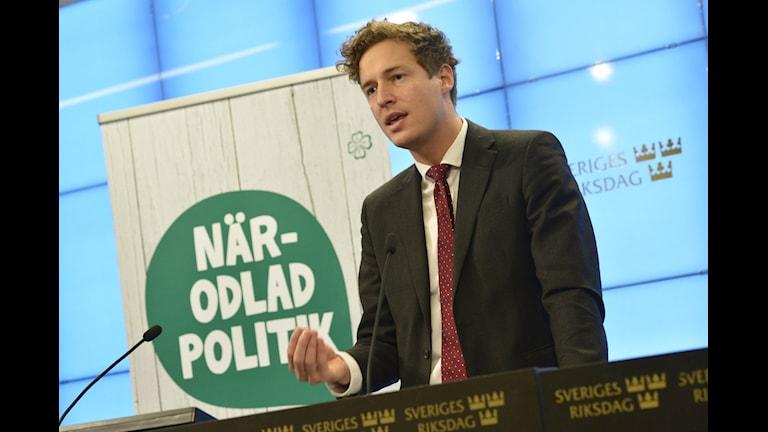 Emil Källström presenterar Centerpartiets skuggbudget