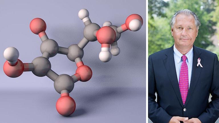 Antioxidantmolekylen och Klas Kärre.