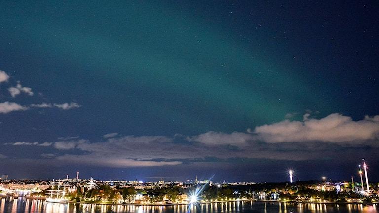 Norrsken över Stockholm