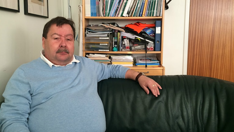 Bengt Sandberg på Fastighetsanställdas förbund har aldrig träffat någon papperslös i städbranschen som inte utnyttjas. Foto: Martin Jönsson/Sverigesradio