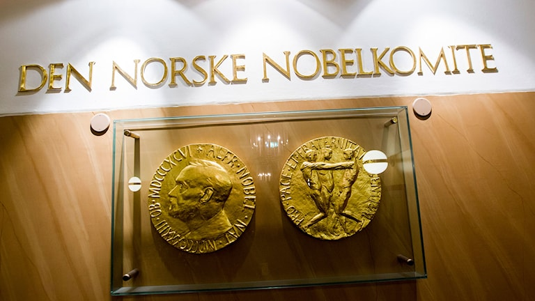 Den norska Nobelkommittén. Foto: Vegard Wivestad Grøtt/TT.