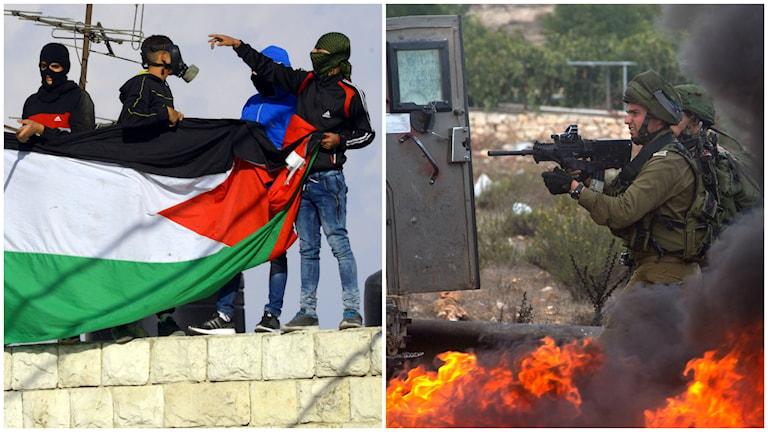 De senaste dygnen har varit oroliga i och kring Israel. Foto: TT.