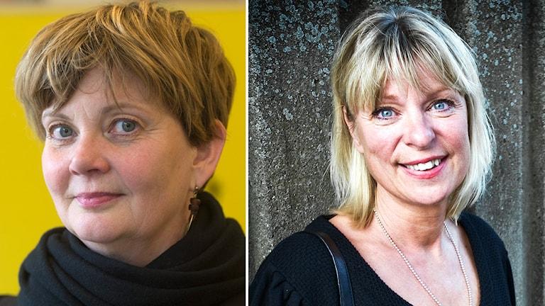 Madelaine Seidlitz, Amnesty och Gudrun Antemar, lagman. Foto:  Leif R Jansson/TT och Yvonne Åsell/TT. Montage: SR