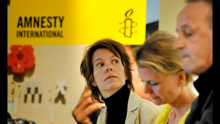 Katarina Bergehed, Amnesty. Foto: Jessica Gow/TT.