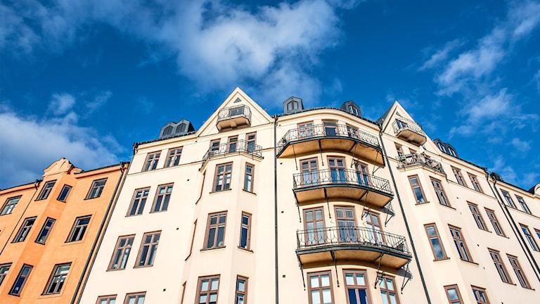 Schön, aber schwer erhältlich: Wohnungen in der Stockholmer Innenstadt (Foto: Tomas Oneborg/TT)