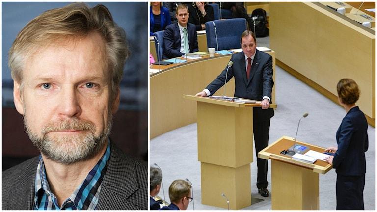 Tomas Ramberg, Ekots inrikespolitiske kommentator om dagens debatt. Foto: Pablo Dalence/Sveriges Radio/TT.