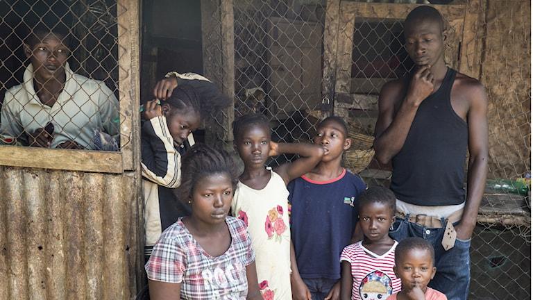 Ebolakarantän i Sierra Leone. Foto: United Nations photo Flickr (CC BY-NC-ND 2.0)