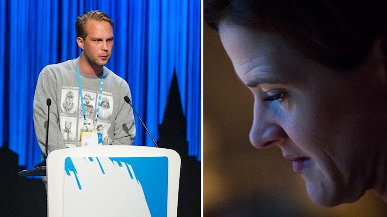 MUF:s Rasmus Törnblom vann mot M-ledningen. Foto: Fredrik Karlsson / TT