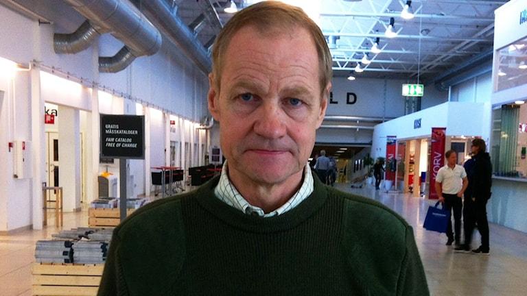 Torgil Bertilsson grön i grön tröja.