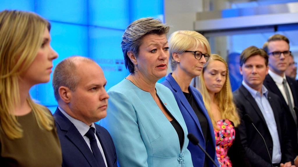 Regeringen och Allianspartierna har nått en överenskommelse om migrations- och integrationspolitiken. Foto: Vilhelm Stokstad / TT