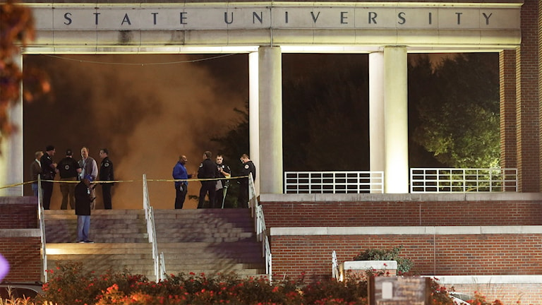Tennessee State University. Foto: Mark Humphrey/TT.