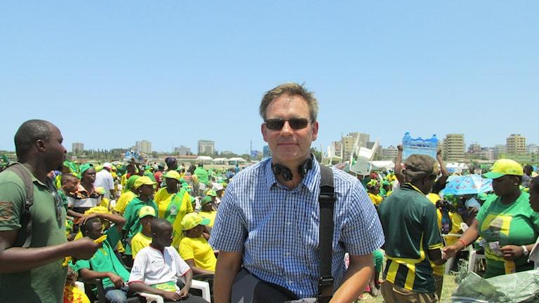 Richard Myrenberg bevakar presidentvalet i Tanzania.