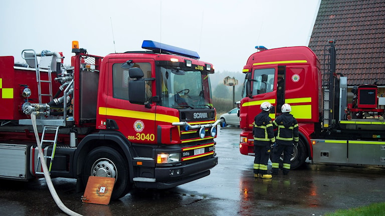 Ännu en brand kan ha brutit ut i ett tilltänkt asylboende i natt, denna gång i Oderljunga i Perstorps kommun i Skåne. Arkivfoto: Björn Lindgren/TT.