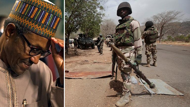 Landets nye president Mohammadu Buhari har gett armén uppdraget besegra Boko Haram fram till slutet på december. Arkivfoto: Cliff Owen, Lekan Oyekanmi / AP / TT