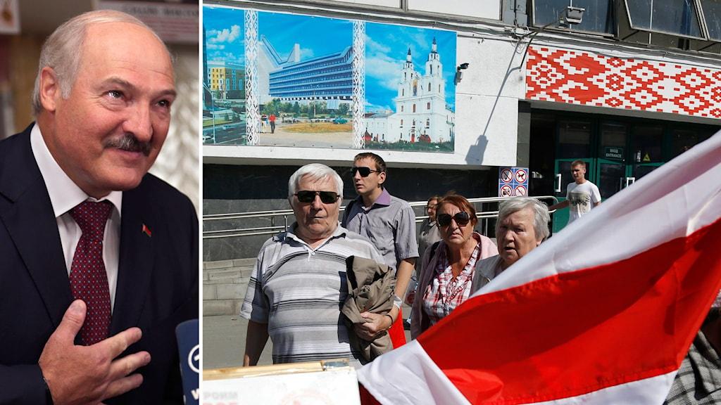 Att det dröjt tills i dag att häva sanktionerna mot Lukasjenko regim beror helt enkelt på att medlemsländerna inte varit helt överens om att häva sanktionerna. Arkivfoto: Sergei Grits  /AP