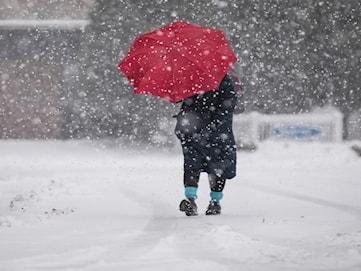 Klass 1-varnar för snöoväder