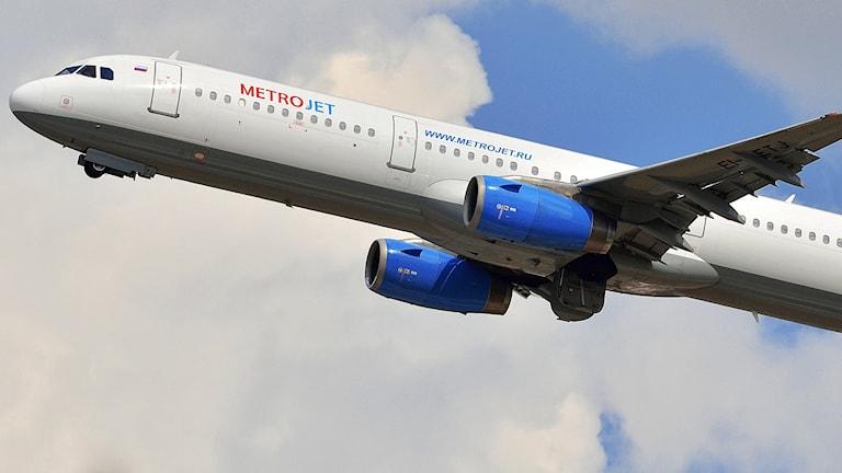 Flygplanet som kraschade var av modellen Airbus 321. Foto: Sergei Korovkin/TT.