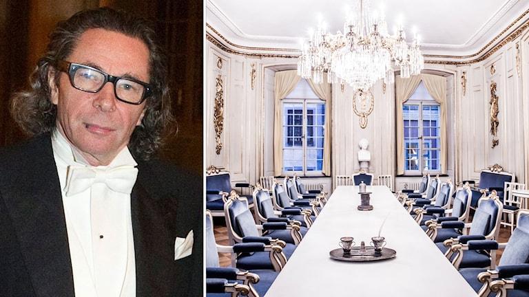 Jean-Claude Arnault har haft ett nära samarbete med Svenska Adademien