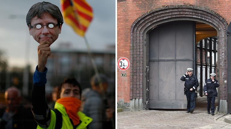 Det är delstatssdomstolen i Schleswig-Holstein som ska avgöra om Carles Puigdemont hållas kvar i förvar i avvaktan på en utlämning